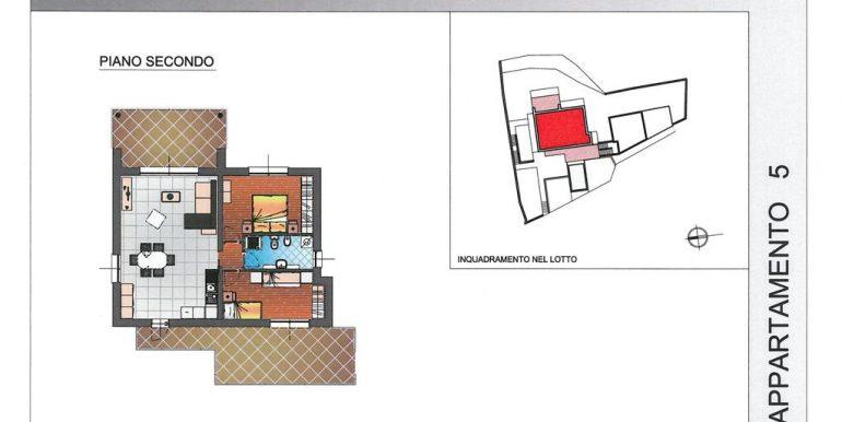 Modern apartments Lake Como Pianello del Lario n.5