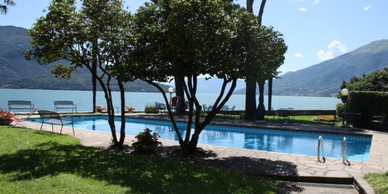 Lake Como Domaso Apartment Front Lake