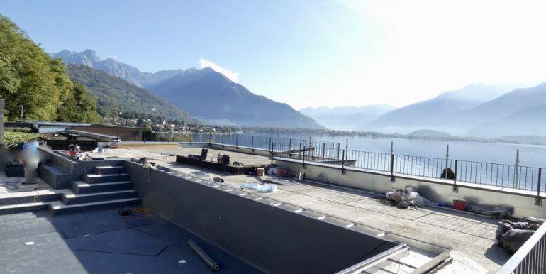 Apartments  Residence with Swimming Pool Lake Como Gera Lario - pool
