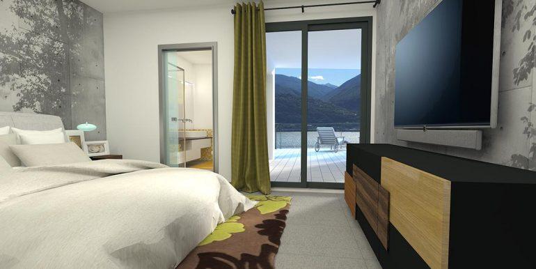 Lake Como residence - Bedroom