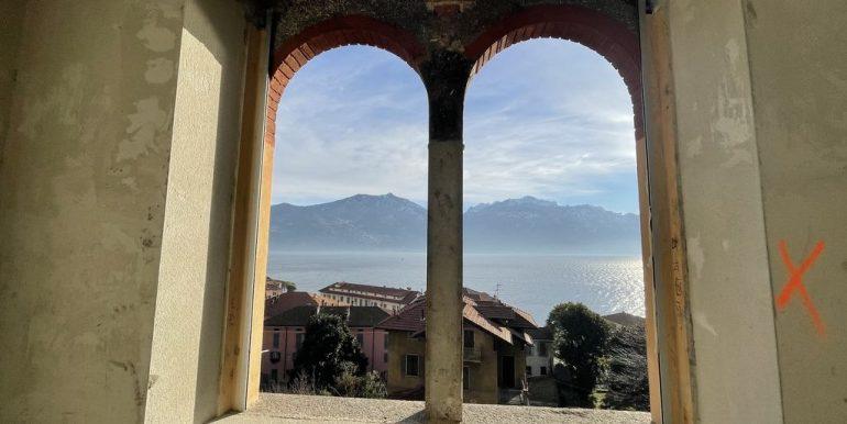 Menaggio Lake Como Apartments in Period Villa - lake view