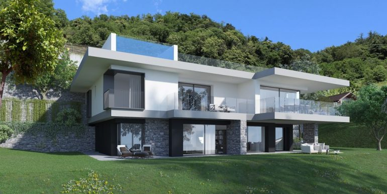 Modern Apartments Domaso with Lake View - garden