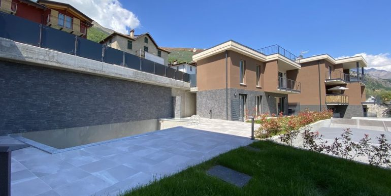 Modern apartments Lake Como Pianello del Lario - piscina