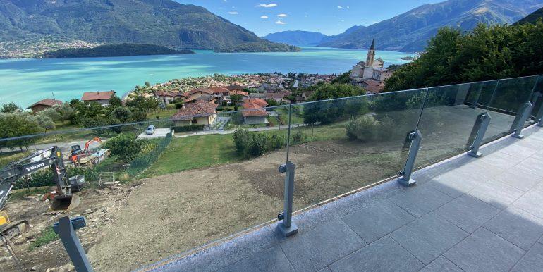 Apartments Residence with Pool Vercana Lake Como - terrace