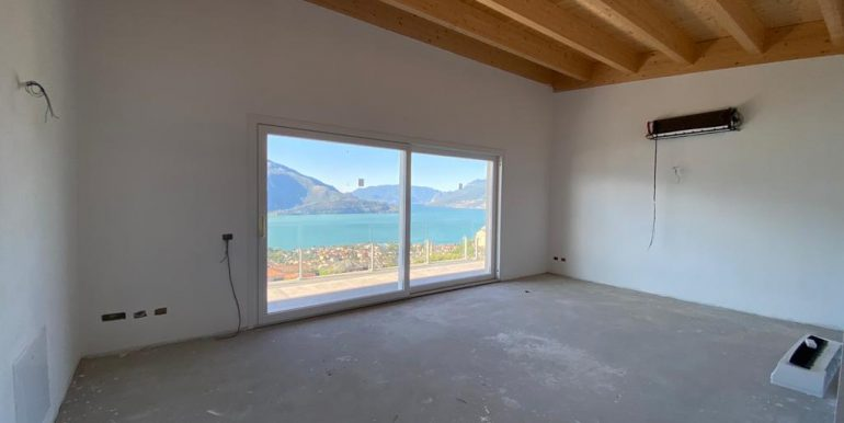 Apartments Residence with Pool Vercana Lake Como - lake view