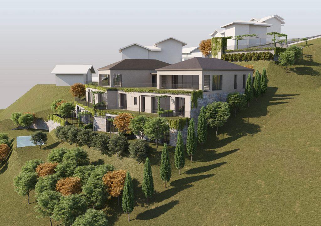 Lake Como Tremezzina Modern apartments with swimming pool