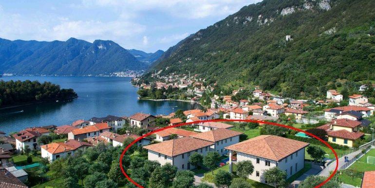 Lake Como Tremezzina Apartments with pool - location