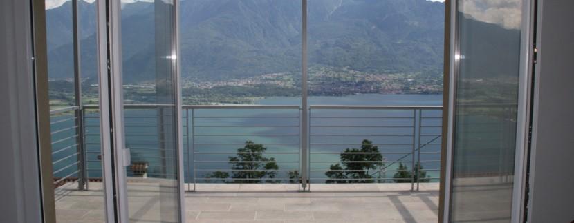 Lake Como Gera Lario Apartment Lake View