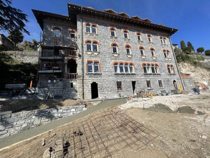 Menaggio Lake Como Apartments in Period Villa - details