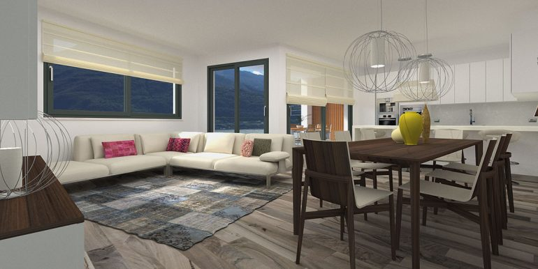 Cremia Apartments in residence- Living room