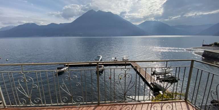 Lake Como Argegno Lakefront Apartment with Terrace