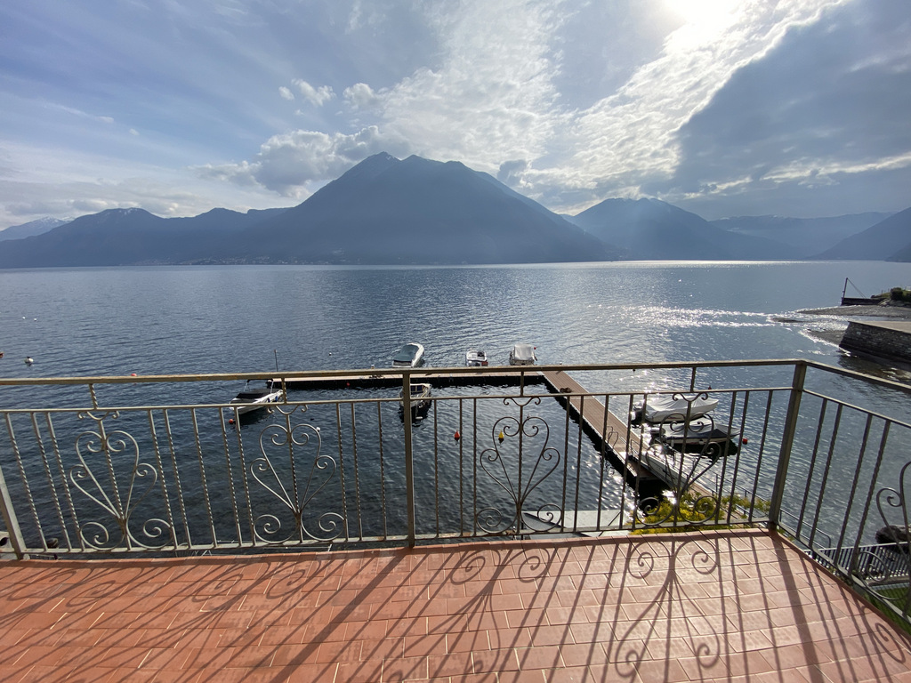 Lake Como Argegno Lakefront Apartment with Terrace - view