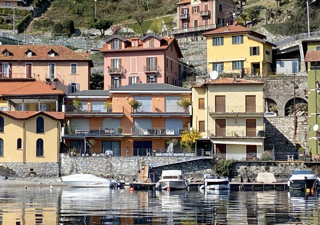 Lake Como Argegno Lakefront Apartment with Terrace
