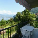 Lake Como Bellano Apartment with Lake View covered terrace