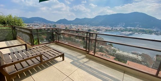 Apartment Lake Como Center with Terrace