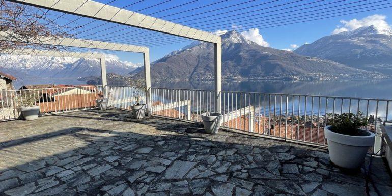 Apartment Residence with Pool Lake Como Pianello Lario - terrazzo