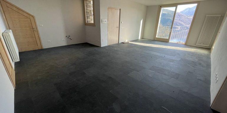 Apartment Residence with Pool Lake Como Pianello Lario - livingroom