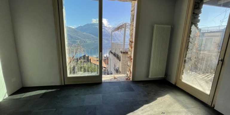 Apartment Residence with Pool Lake Como Pianello Lario - bedroom