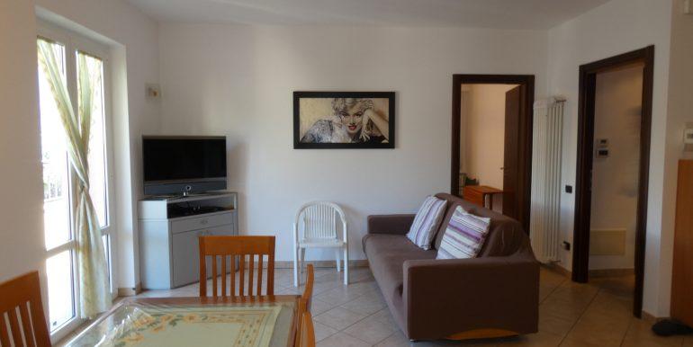 Apartment Domaso Lake Como - living area