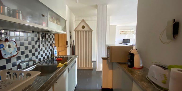 Apartment Directly on Lake Como Domaso - kitchen