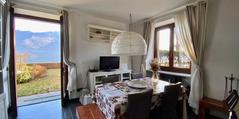 Apartment Directly on Lake Como Domaso private garden