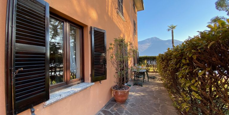 Apartment Directly on Lake Como Domaso ground floor