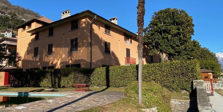 Apartment Directly on Lake Como Domaso solarium