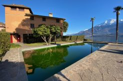 Apartment Directly on Lake Como Domaso