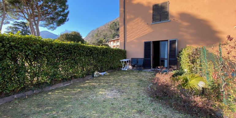 Apartment Directly on Lake Como Domaso - garden