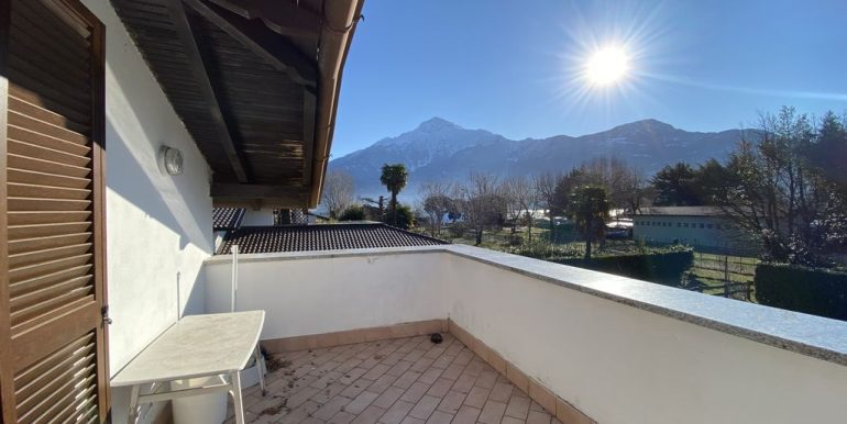 Domaso Apartment Direct Access to the Lake -terrace