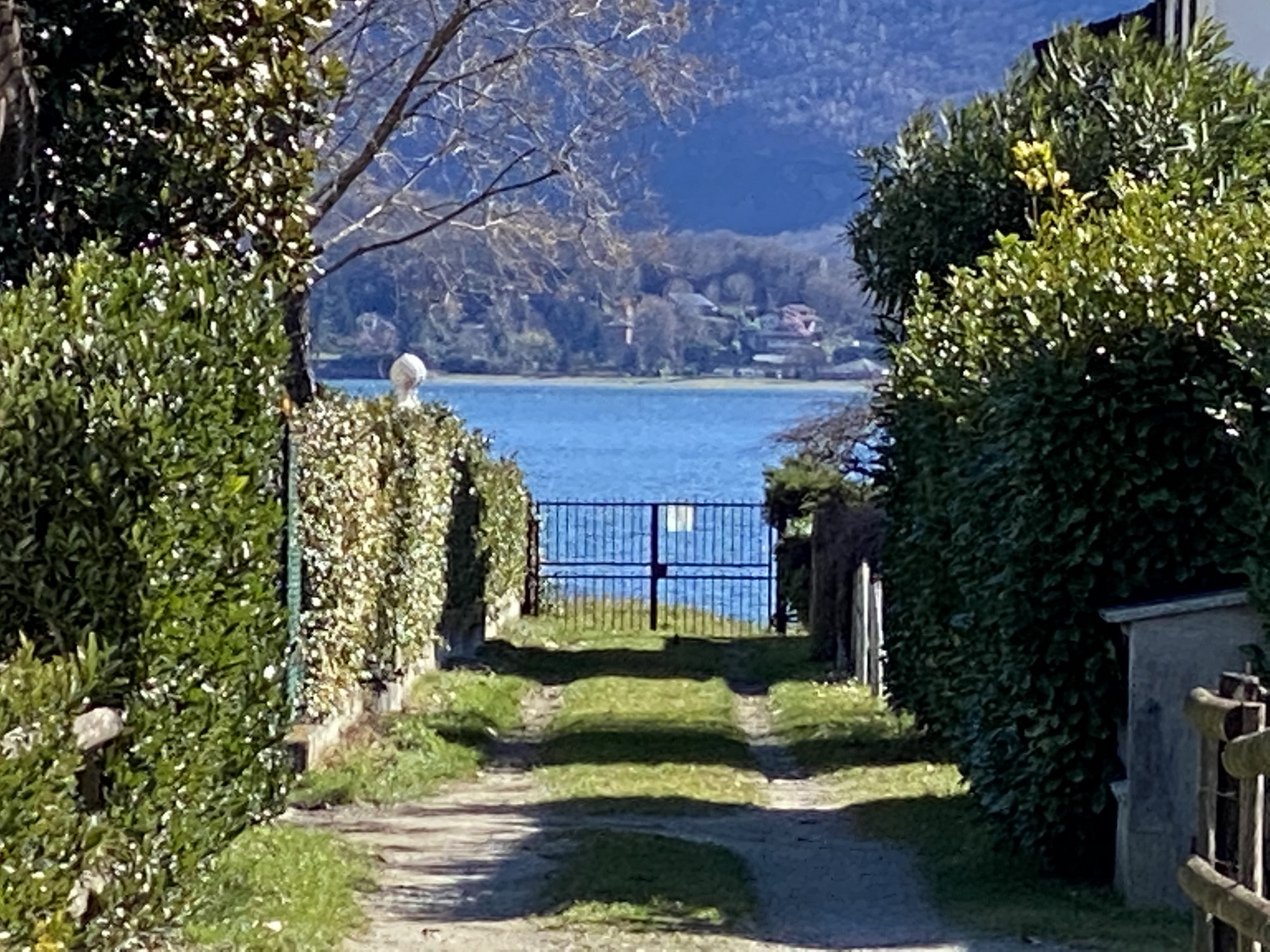 Apartment Domaso with Porch and Access to the Lake
