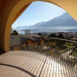 Apartment Domaso - terrace