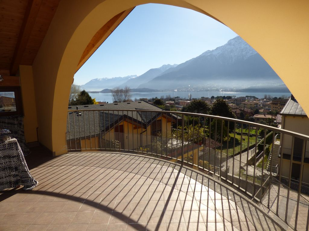 Apartment with Terrace and Lake View Domaso Lake Como