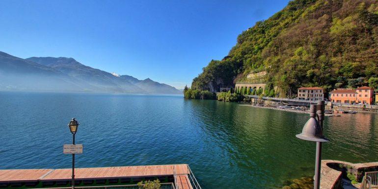 Front lake Apartment Dongo  - lake view