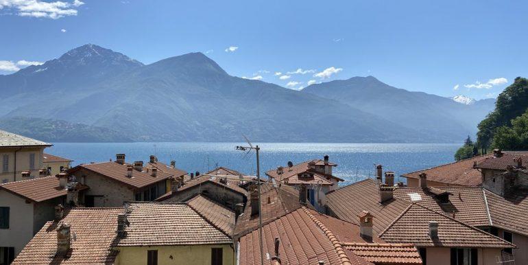 Lake Como Apartment with Terrace Dongo - lake view