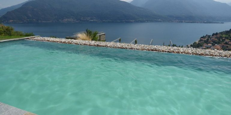 Lake Como Apartment with Garden Pianello del Lario - pool