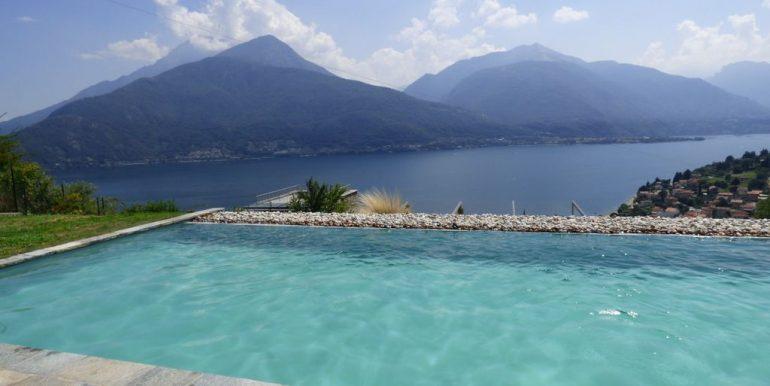 Lake Como Apartment with Garden Pianello del Lario - swimming pool
