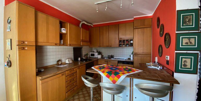 Lake Como Gera Lario Apartment with Terrace - kitchen