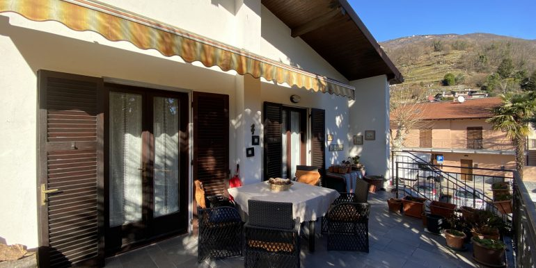 Lake Como Gera Lario Apartment with Terrace sunny lcoation