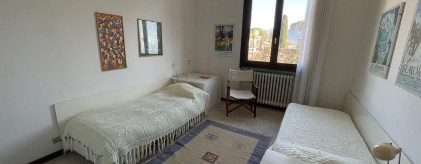 Apartment Front Lake Como Gera Lario - bedroom