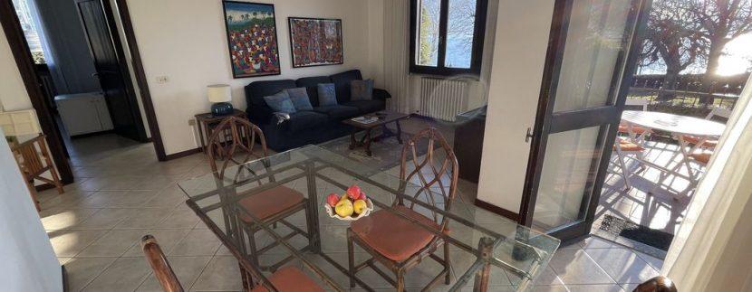 Apartment Front Lake Como Gera Lario - living