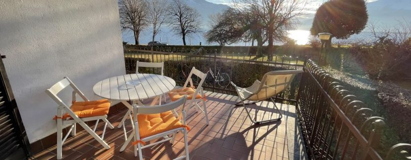 Apartment Front Lake Como Gera Lario - terrace