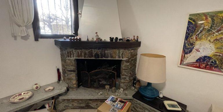 Apartment Front Lake Como Gera Lario - fireplace