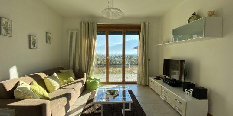 Lake Como Apartment with Swimming Pool Gera Lario  - living