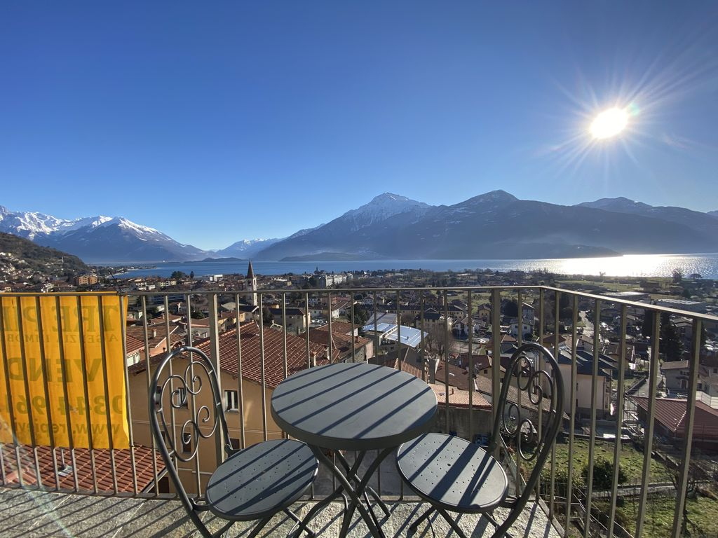 Apartment Gravedona ed Uniti with Lake Como View