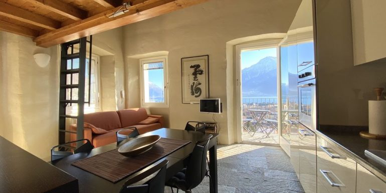 Apartment Gravedona Lake Como  - living