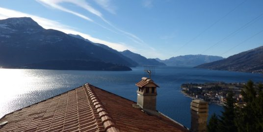 Lake Como Gravedona Apartment with Lake View