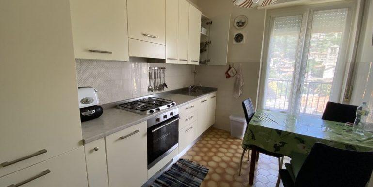 Apartment Gravedona ed Uniti with Terrace and Lake View - kitchen