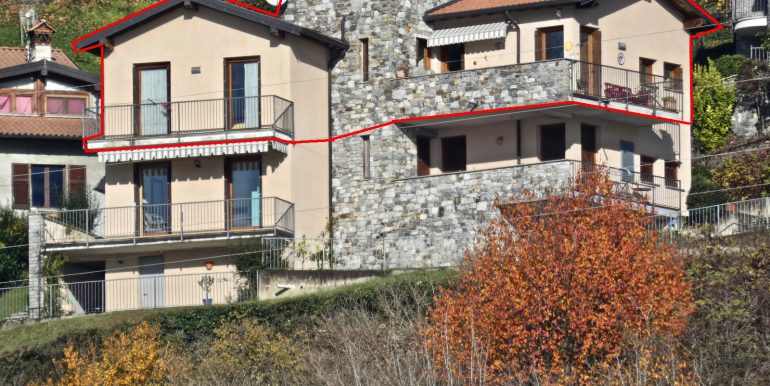 Apartment Gravedona ed Uniti Lake Como - back side
