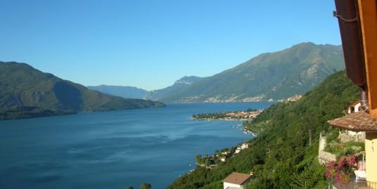 Lake Como Gera Lario Apartment with Lake View